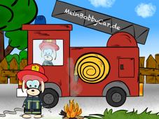 Bobby-Car Feuerwehr