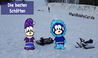 Die besten Schlitten - Schlitten Vergleich - MeinBobbyCar.de