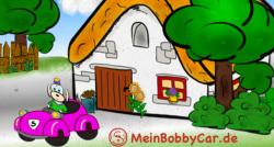 MeinBobbyCar.de Bobbycar drinnen oder nur draussen