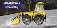 Bobby Car fahren im Winter